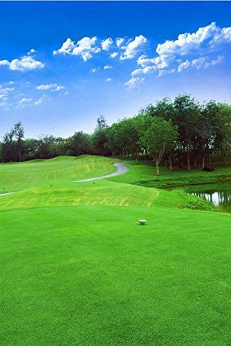 5X7FT green Golf themed Course Photography Backgrounds