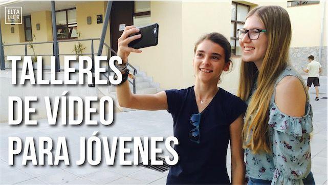 Talleres de Vídeo con Móviles para Jóvenes