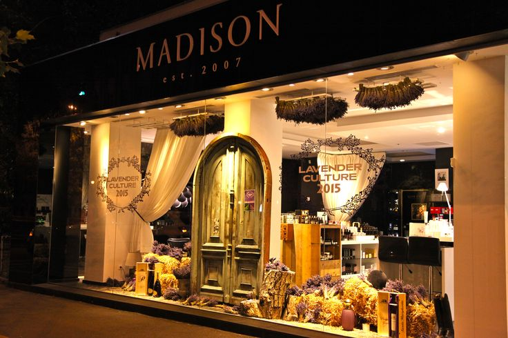 Madison Perfumery/ Night View/ Window Display by Mihaela Damian