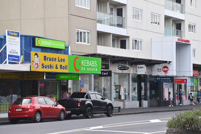 Bruce Lee Sushi and Roll in Newmarket | Auckland, NZ