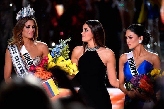 Colombia, Miss Universo por dos minutos