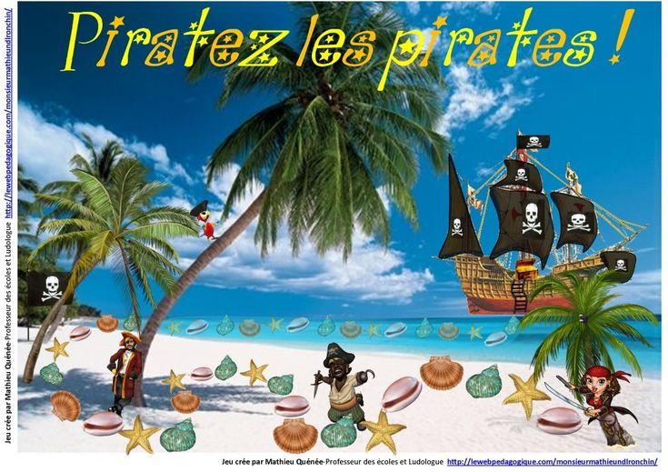 Piratez les pirates : Jeu d'orthogrpahe