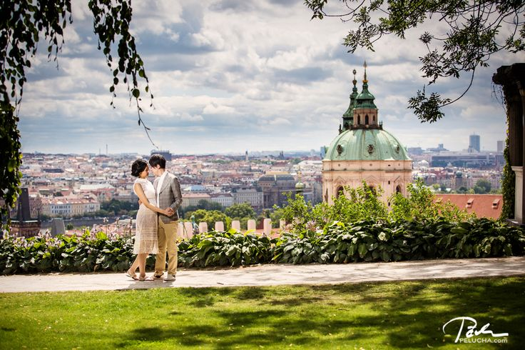 wonderful prewedding photo shoot in summer prague #prague #prewedding
