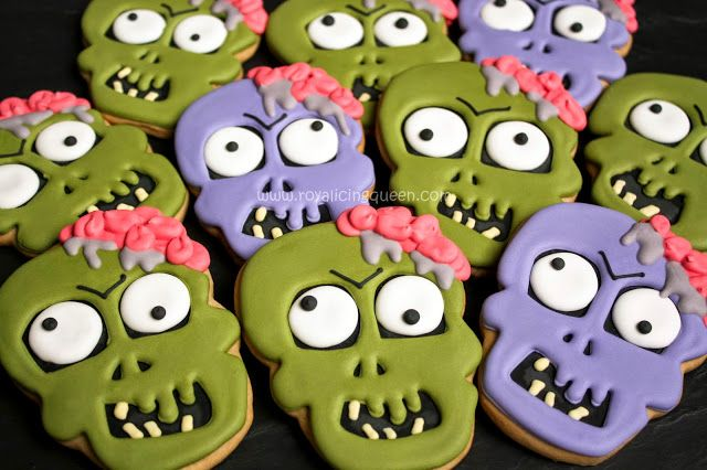 The Royal Icing Queen: Zombie Cookies