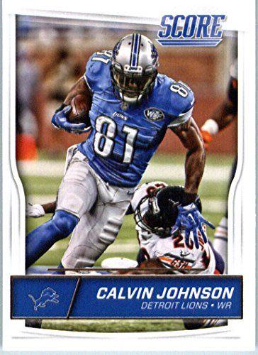 Calvin Johnson Detroit Lions Cards