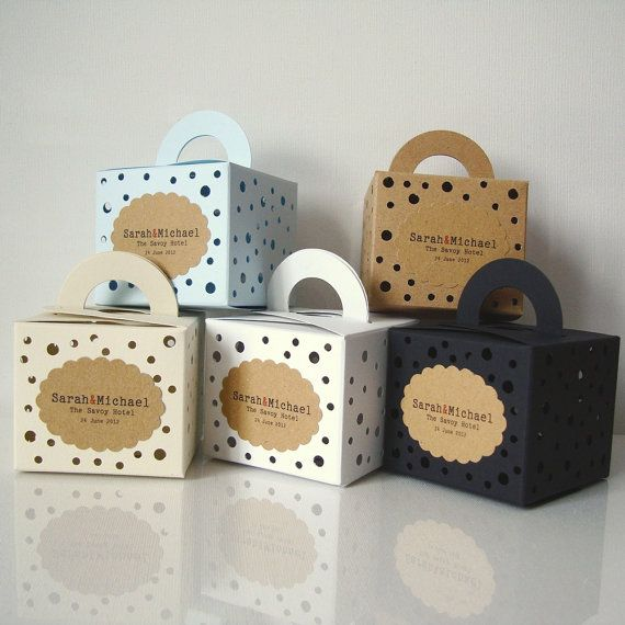 Make Your Wedding Favours Unique With These Bo Full Of Holes Which I Designed Wrap Favour In A Ball Coloured Tissue Paper And Put It Inside This