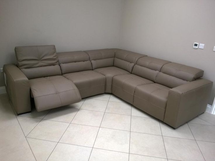 Sleeper Sofas Milano sofa with electric reclining seats and adjustable headrest Made in Italy Other