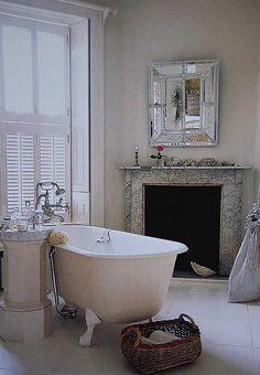 georgian bathroom fireplaces - Google Search