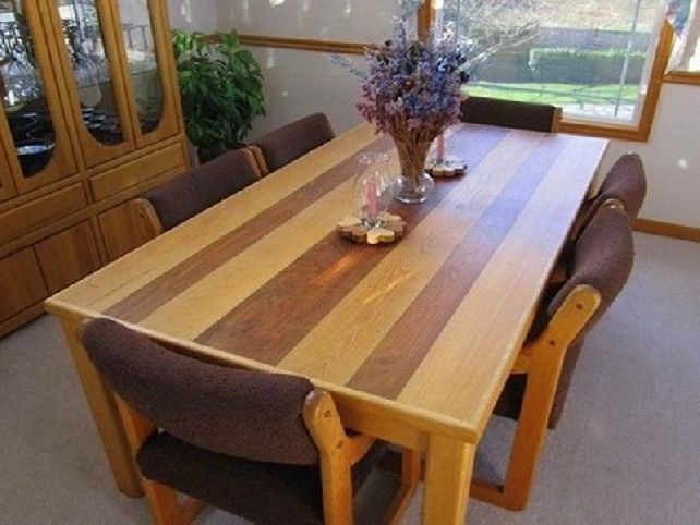 Dining Room Table Plans Pdf