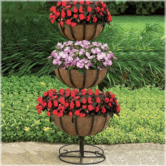 3 Tier Strawberry Planter: I ♥ This CobraCo® 3 Tier Plant Stand Because I Can