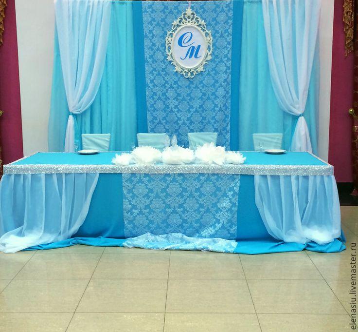Купить Свадебное шампанское в бирюзовом цвете с ручной росписью - бирюзовый, бирюзовая свадьба, бирюзовое оформление