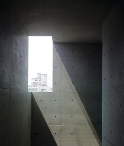 light on concrete