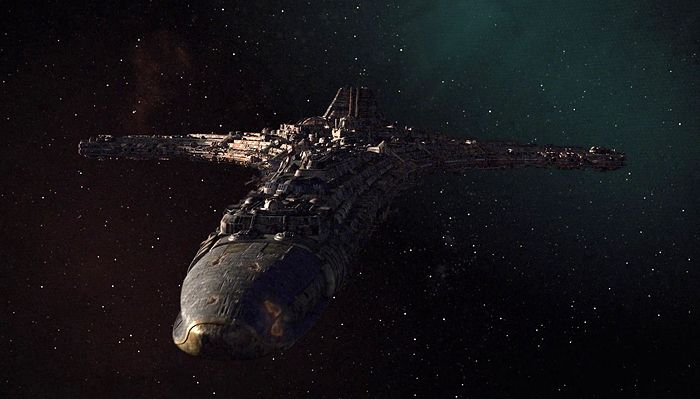 10 Beloved Spaceships Destiny: The ship from Stargate: Universe is a ship in the Ancient fleet, constructed and launched over 50 million years ago from Earth. Destiny's plan was to follow in the path of the Ancient's automated ships who constructed and seeded the Stargates throughout the galaxies.