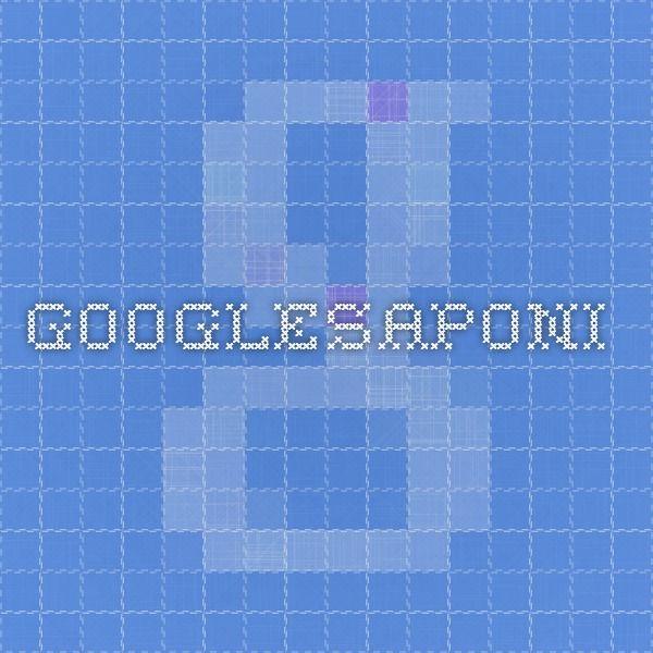 Googlesaponi