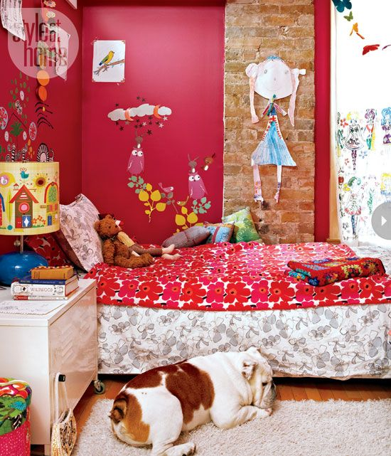 With a house decorated in bold colours and eclectic finds, this worldly family doesn't have to go far to feel like they're travelling the globe.