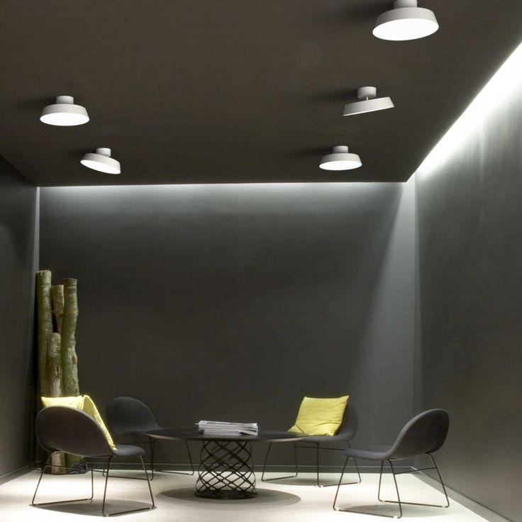 Deckenleuchte Led Pinterestu0027te Helestra, Deckenlampen led ve Led - leuchten fürs wohnzimmer