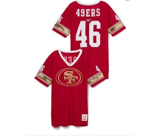 cheap for discount c9a8a e1f66 san francisco 49ers bling jersey