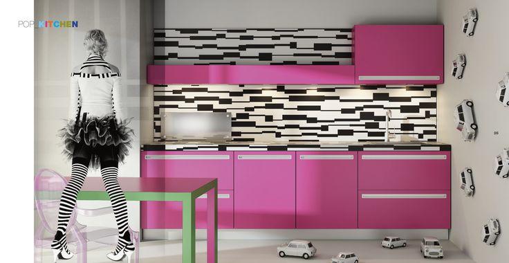 Velve Pop Kitchen - www.derosso.it