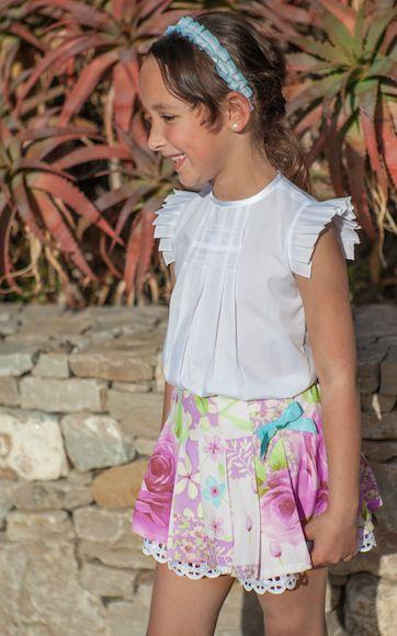 falda con tablas