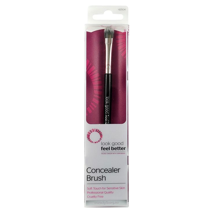 Look Good Feel Better Concealer Brush 1 ea