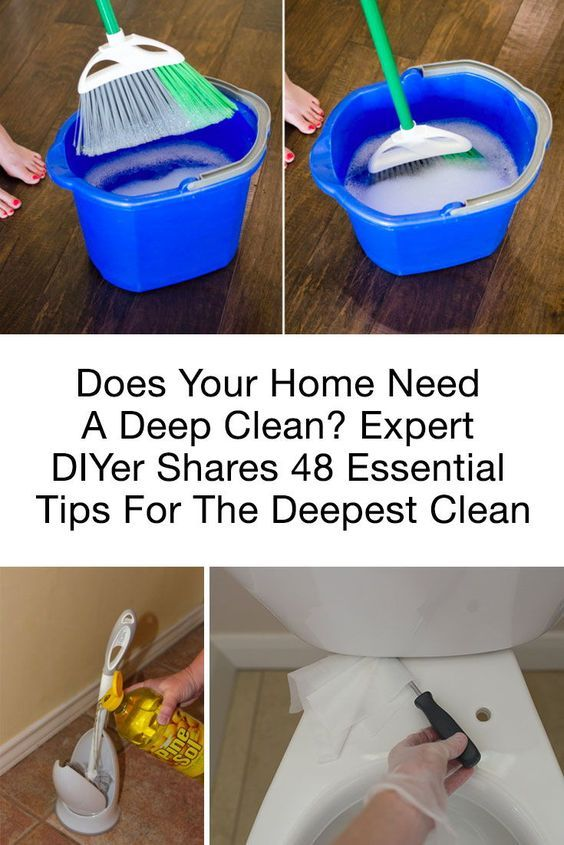 Does Your Home Need A Deep Clean? Expert DIYer Shares 48 Essential Tips For The Deepest Clean