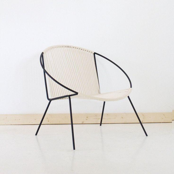 Welded Steel Frame Woven Hoop Circle Chair (320.00 USD) by SonadoraInLove