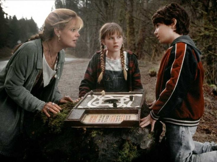 jumanji bonnie hunt new hampshire kirsten dunst. which movie is each state known for...