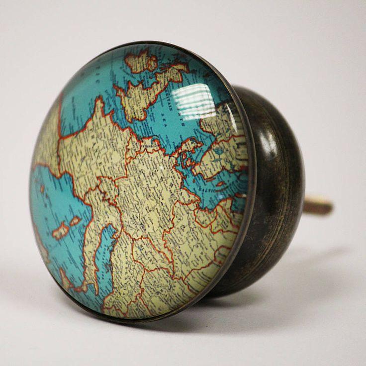 large atlas knob by lindsay interiors   notonthehighstreet.com £7.50