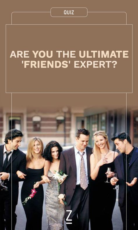 Are You the Ultimate 'Friends' Expert? | Friends | Friends