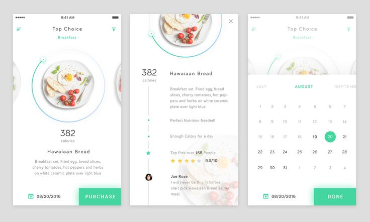 Health Food App Exploration