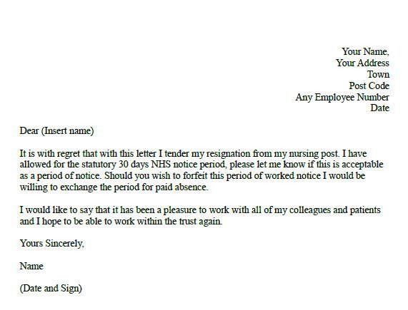 Resignation Letter For Nursing Elegant Formal Resignation Letter