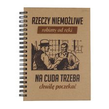 NOTESY - Spod Lady - retro upominki. Nietypowe prezenty, absurdalne i śmieszne gadżety w klimacie PRL.