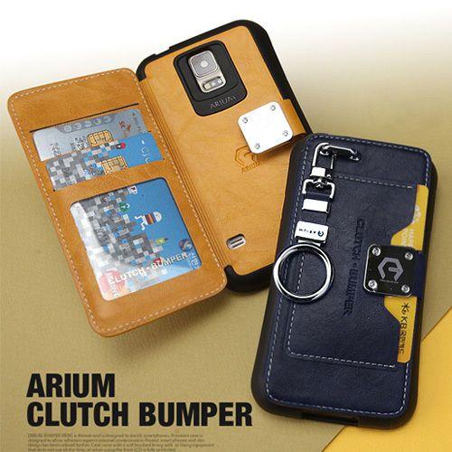 Arium Clutch Bumper Case Galaxy Note 3 Case Galaxy Note 2 Case 6 Colors Wallet #Arium