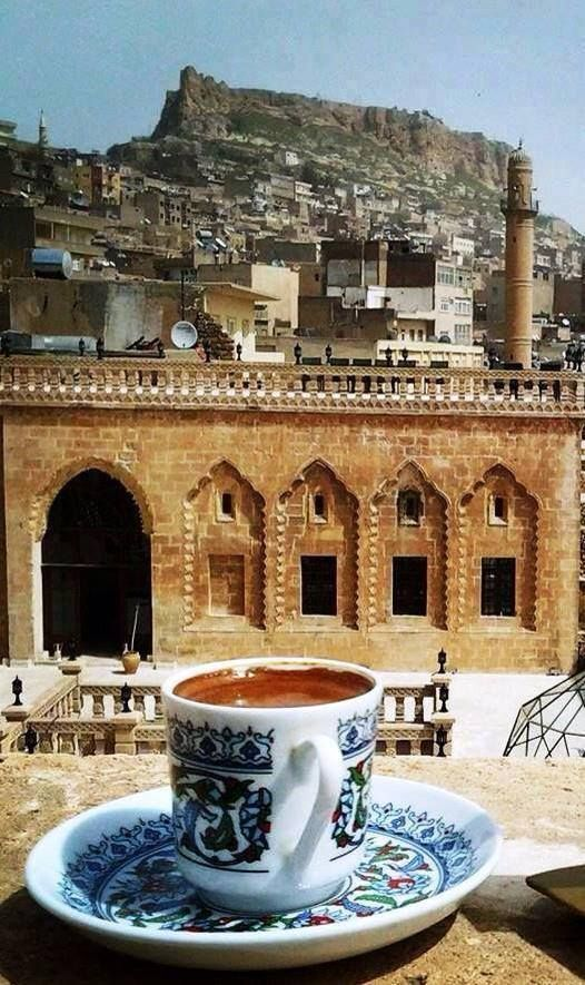 MARDİN...ve Türk Kahvesi..- City of Mardin and Turkish coffee- for shopping remember Silver items..