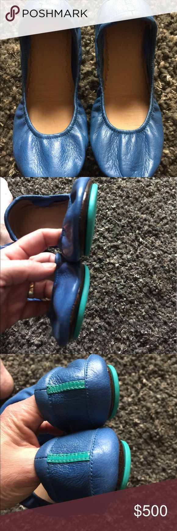 Tieks NOT for Sale ~ Trade • 9 Brand New Cobalt Blue Tieks • I don't love them... Anyone interested in trading for New or EUC? Tieks Shoes