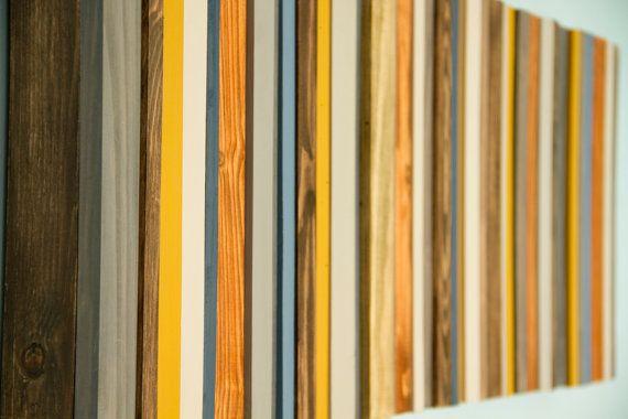 Reclaimed Wood Art Modern office decor от ArtGlamourSligo на Etsy