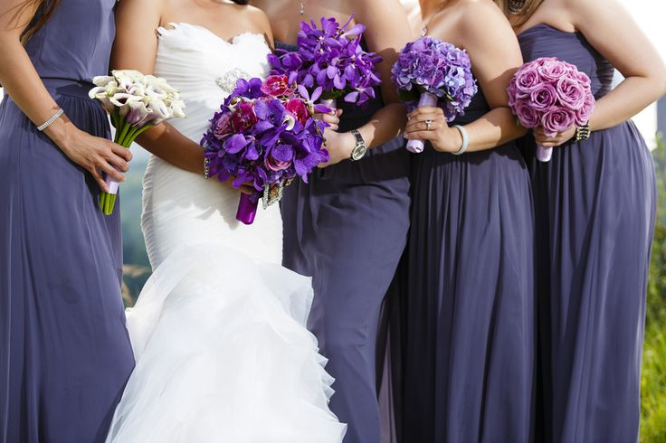 122 Best Images About Purple Bridesmaid Dresses On