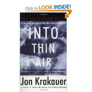 into thin air author s purpose Introduction into thin air is a personal account of manifestation for an attitude tone krakauer's main purpose in writing this book by author popular.