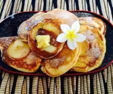 Recipe Apple, cinnamon and yogurt pancakes by monicaih - Recipe of category Desserts & sweets