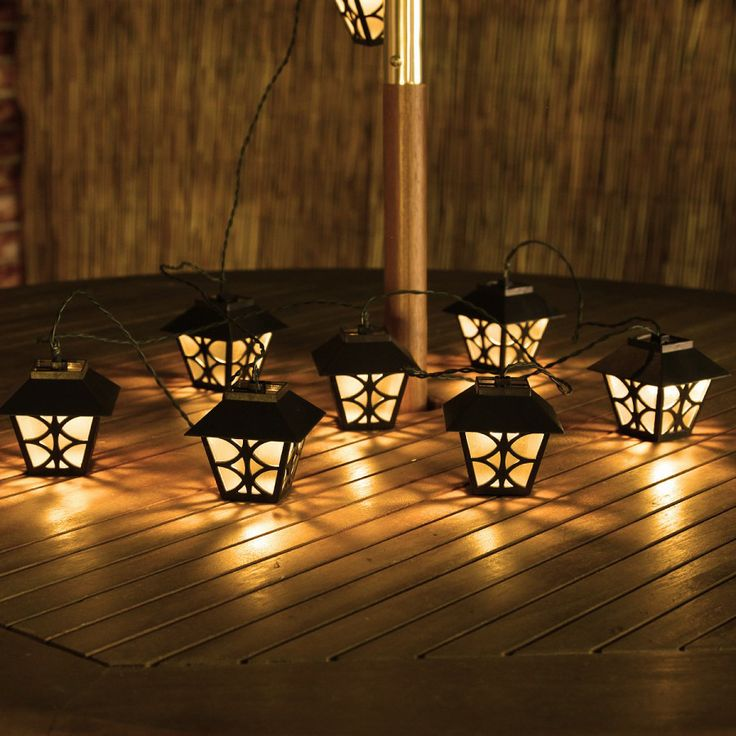 Love these! #Solar #Lantern Party String Lights | World of Solar