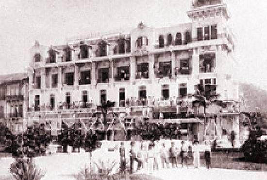 Novo Milênio: Guarujá de antigamente - O Grande Hotel La Plage (versão III) (A)