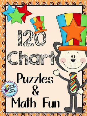 120 Chart! Enter for your chance to win 1 of 3.  120 Hundreds Chart Puzzles and Activities - Cat with a Striped Hat Theme (20 pages) from First Grade Fun Times on TeachersNotebook.com (Ends on on 12-19-2014)  120 Chart