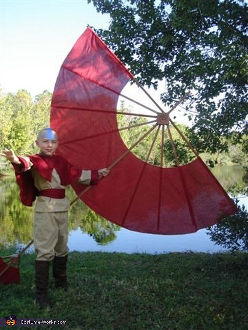 Aang Avatar The Last Airbender - Homemade costumes for boys