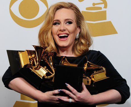 Thought Adele was stunning on the Grammys