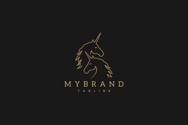 Logo for sale: Unicorn Logo