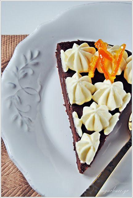 Sugar Buzz: Σοκολατένια ψητή τούρτα με πορτοκάλι