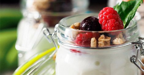 Ideas de snacks saludables para tomar a media mañana