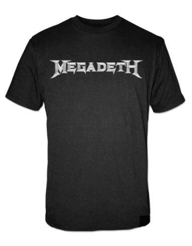 Megadeth Megadeth Logo Mens T-Shirt