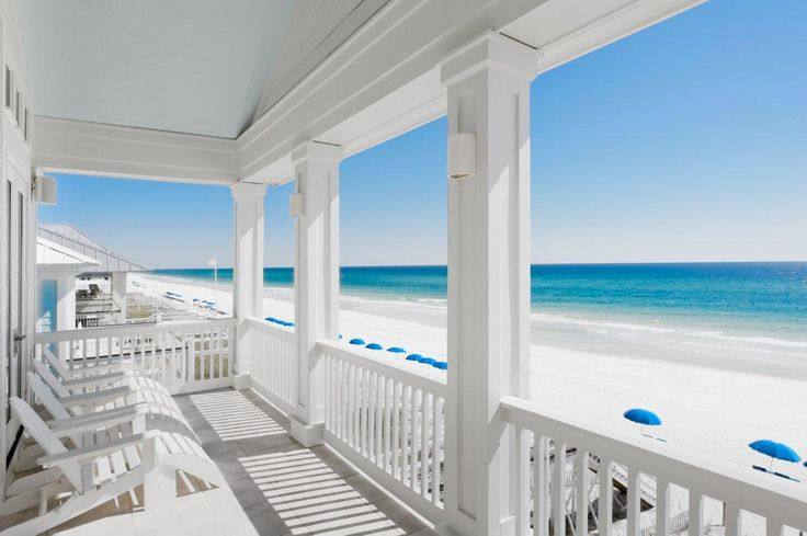 Awesome white sands + crystal blue waters!