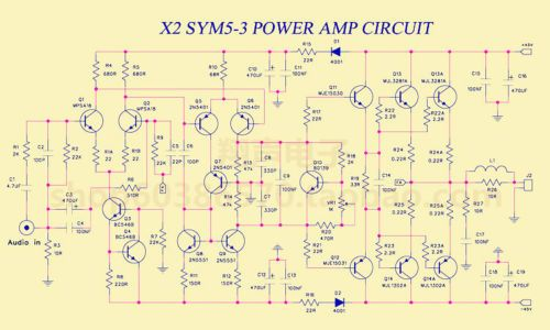150W-Class-AB-Audio-Power-Amplifier-Board-PCB-AMP-based-on-Symasym5-3